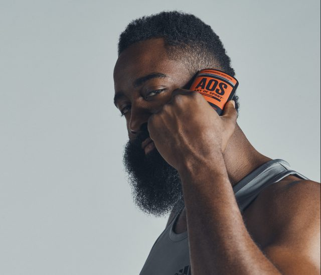 Art of Sport ambassador James Harden