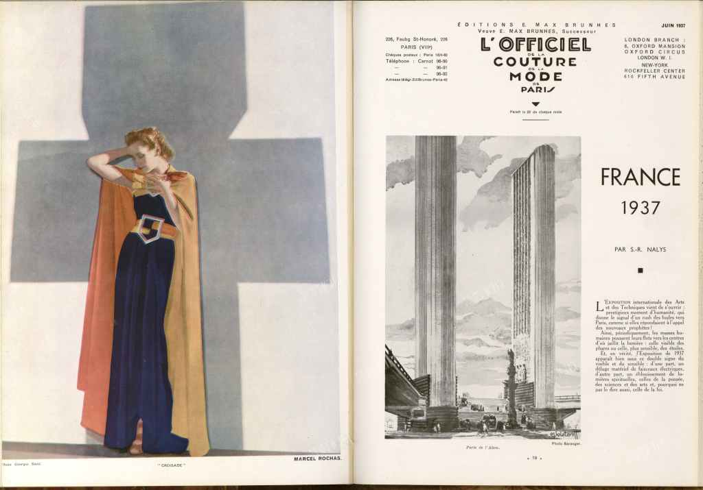 L'Officiel magazine 1937