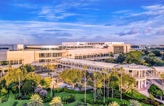Orlando's Orange County Convention Center.