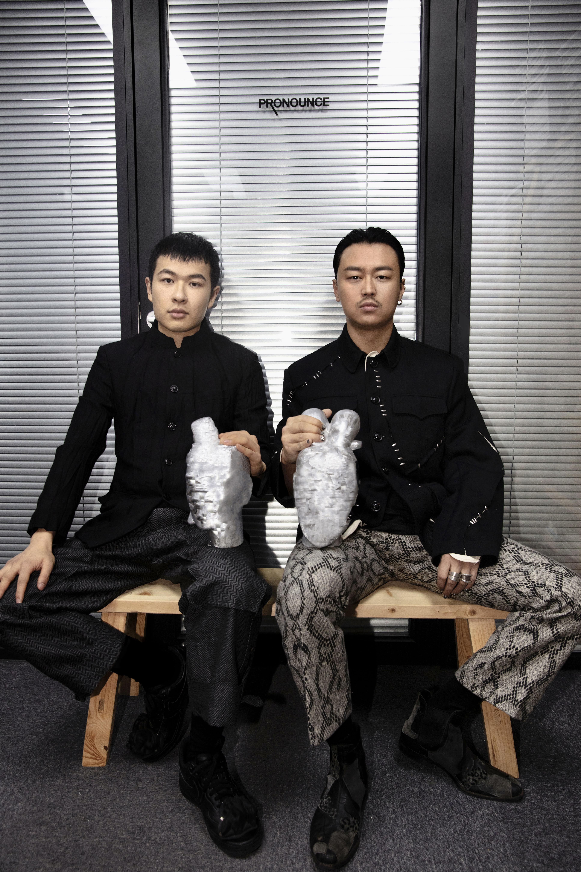 Jun Zhou and Yushan Li, founders of Pronounce