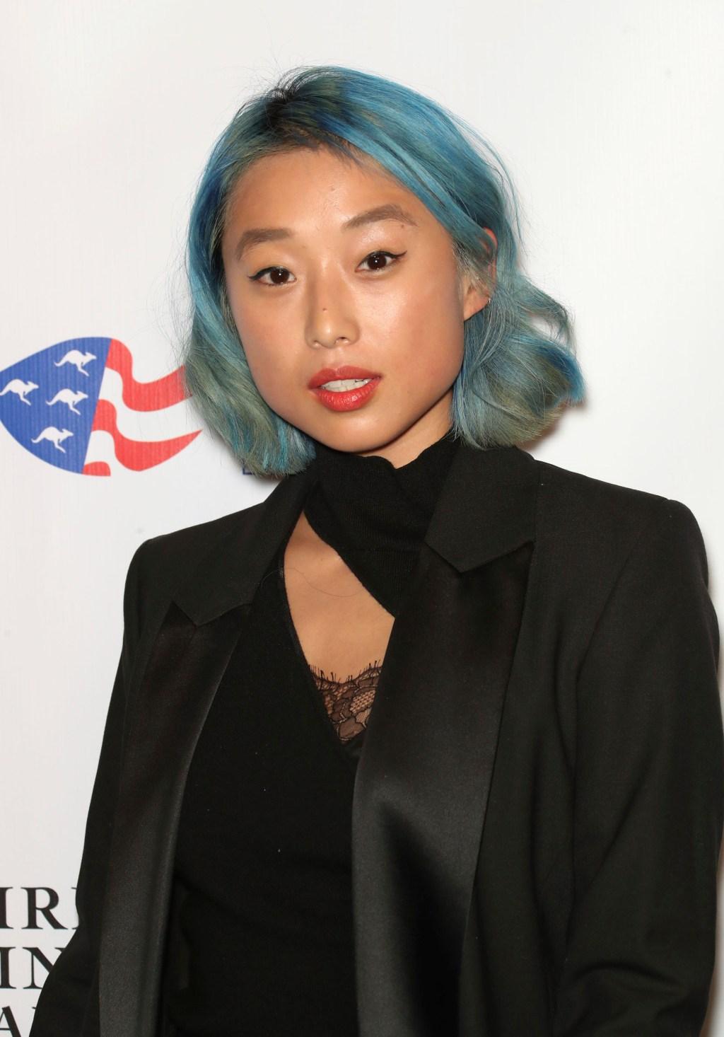 Margaret Zhang at the American Australian Association Arts Awards.