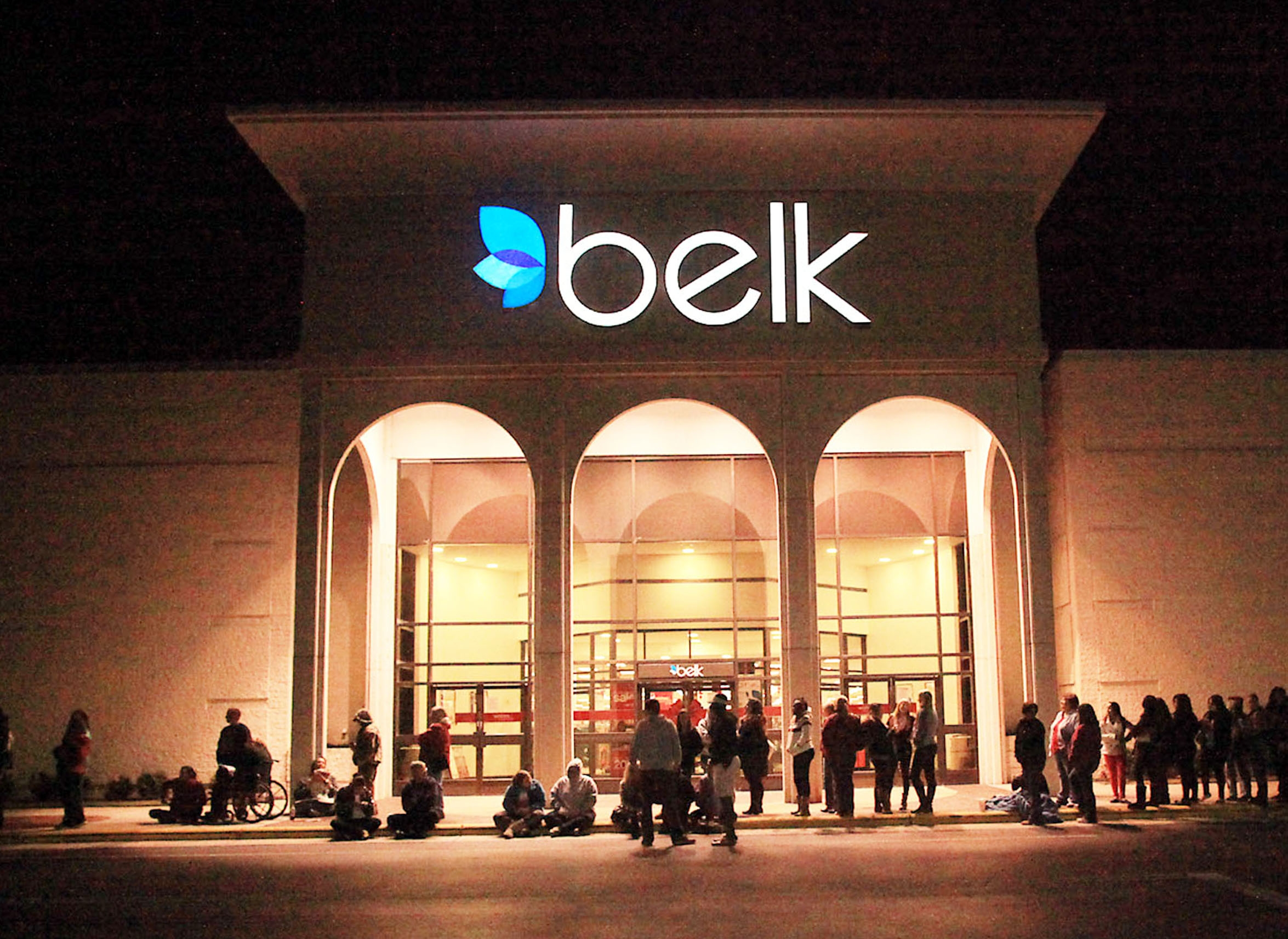 The Belk department store chain pushed through a pre-packaged bankruptcy plan.