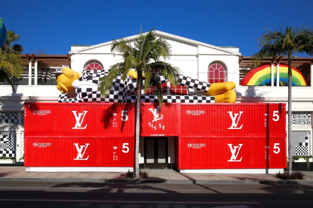 Louis Vuitton Men's store Los Angeles Beverly Hills