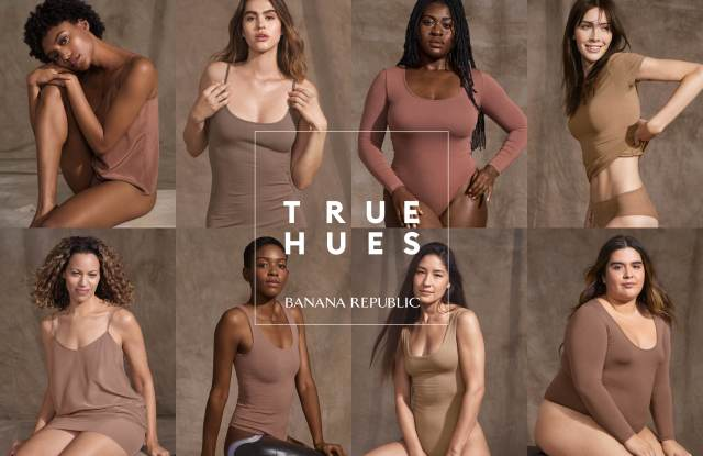 Banana Republic's True Hues campaign.