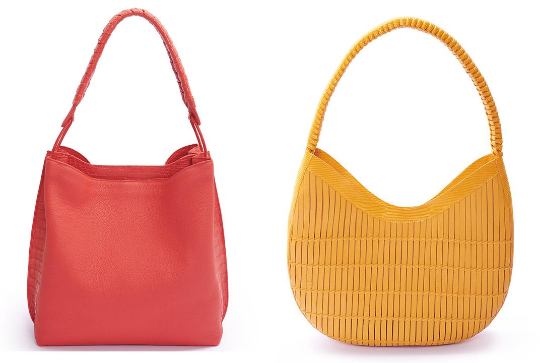 New leather bag designs by Nancy Gonzalez.