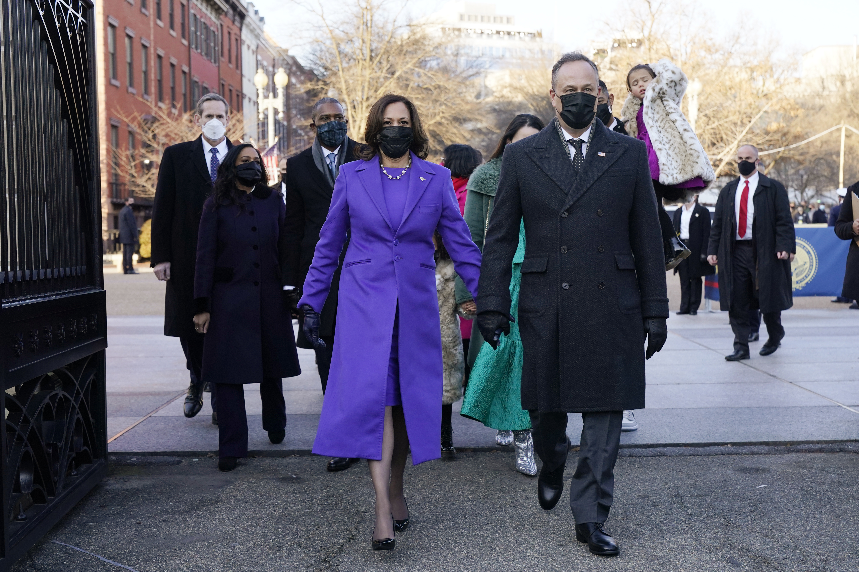 Vice President Kamala Harris, and her husband Doug Emhoff.