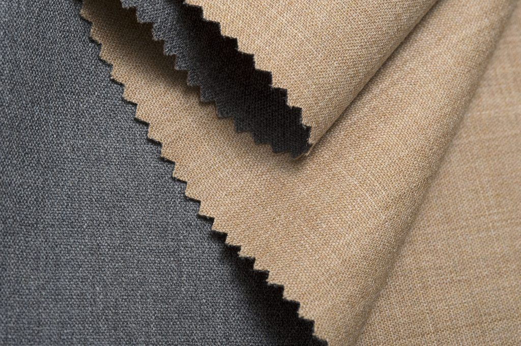 A double face wool fabric from Botto Giuseppe's Slowool 160's lineup.
