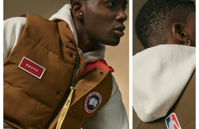 Canada Goose and Rhude's NBA All-Star vest.
