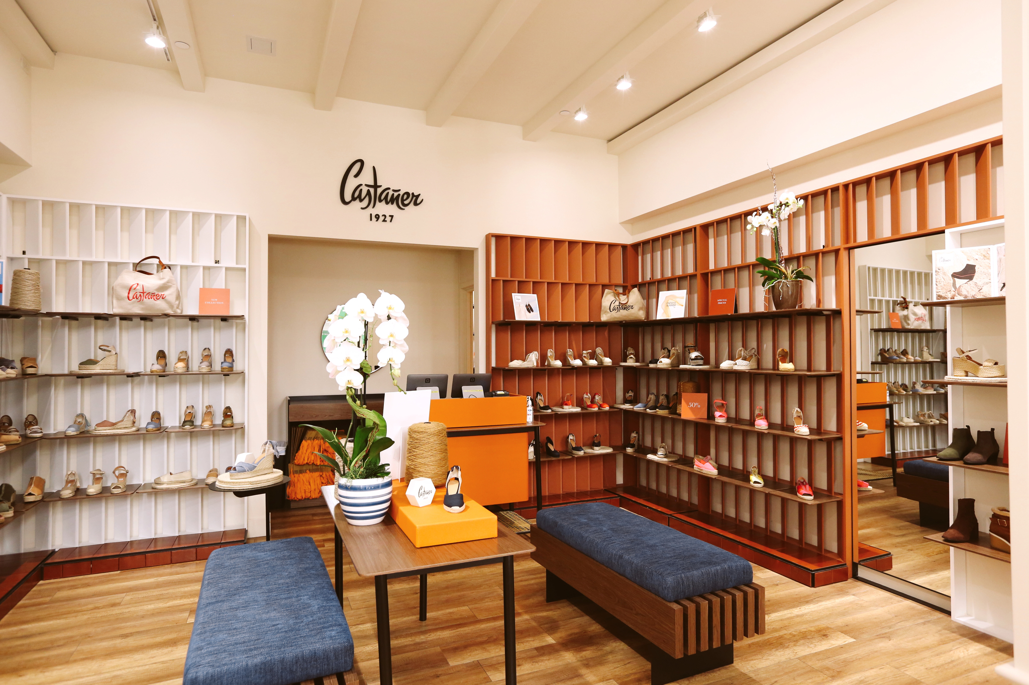 Castañer's Aventura Mall boutique.