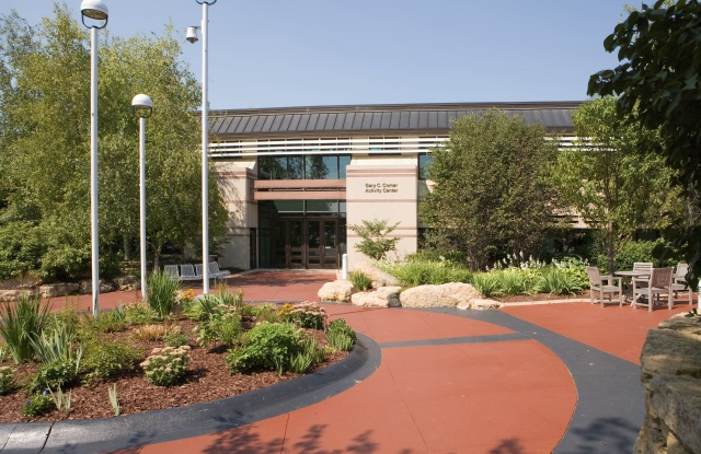 The Comer Center at the headquarters campus of Lands' End.