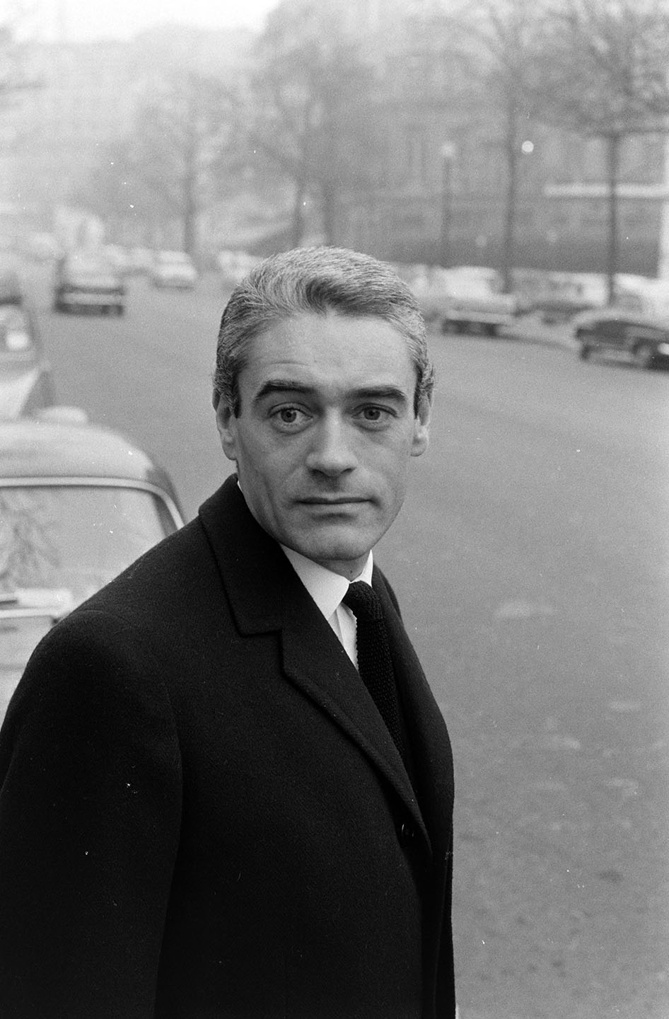 Couturier Philippe Venet photographed in Paris on January 5, 1966.