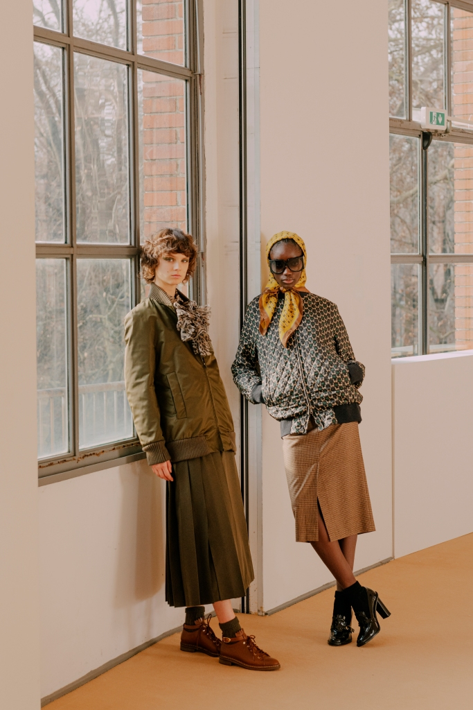 Looks from Max Mara's fall 2021 70th anniversary collection.