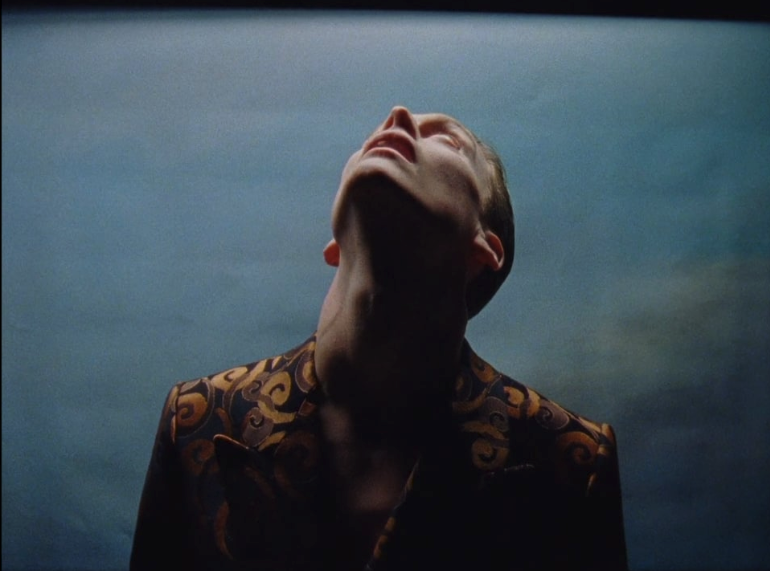 "A frame from the ""Baton"" movie Albert Moya directed for Dries Van Noten."