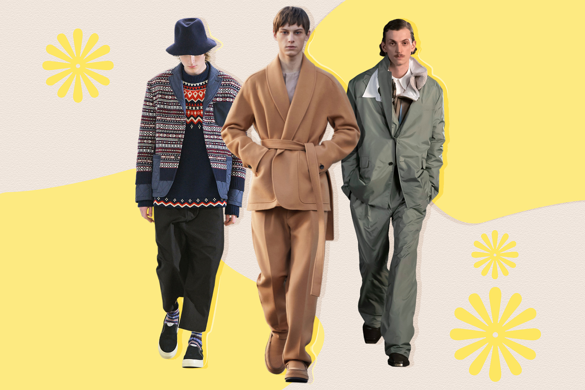 Fall 2021 Men's Fashion Trend: Comfort Suiting