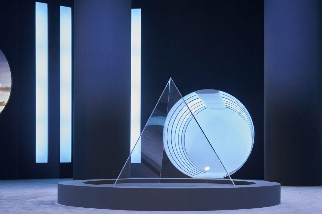 The set of the Salvatore Ferragamo Fall 2021 digital showcase