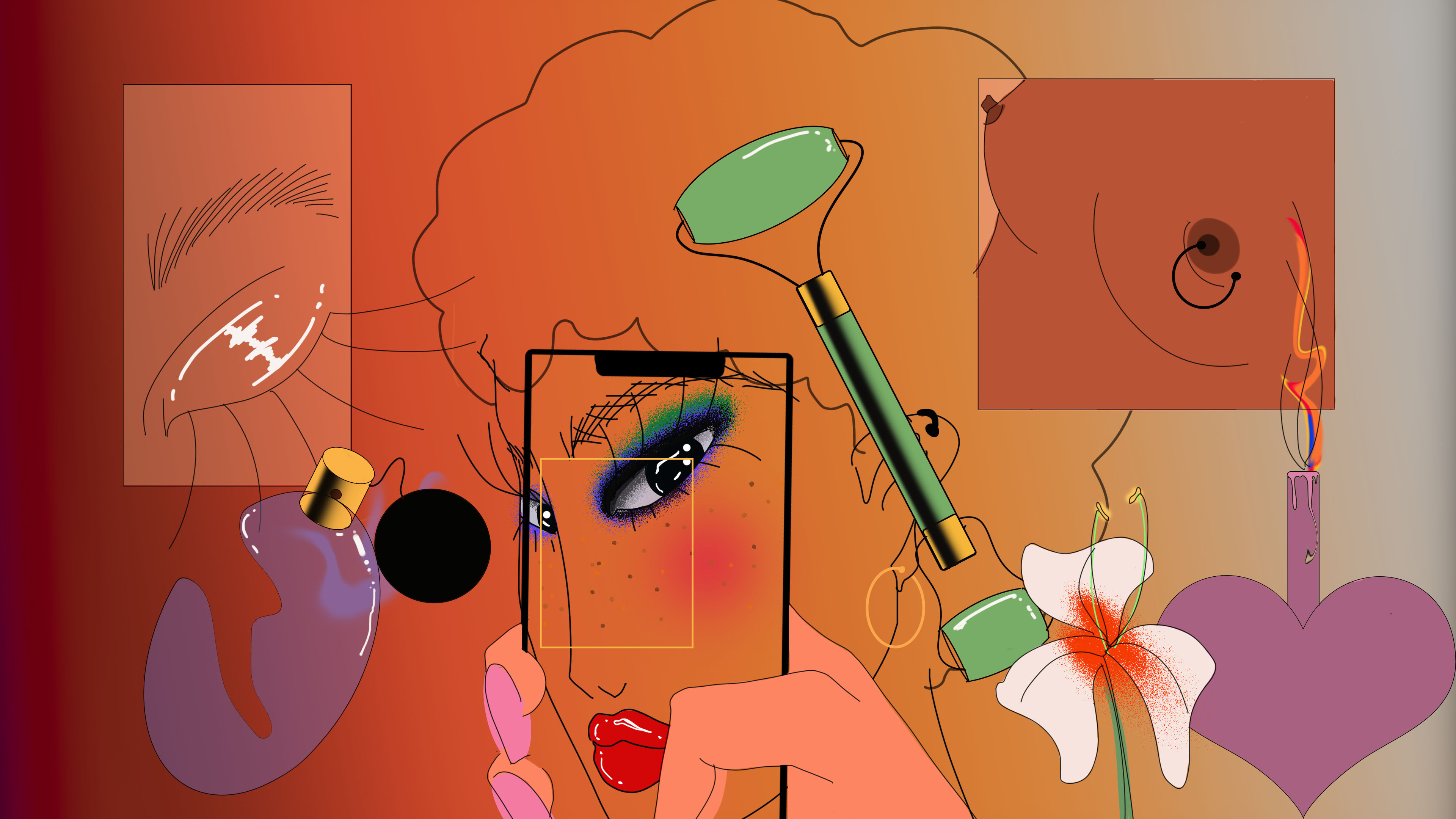 """An illustration from the new """"Beyond Beauty"""" report prepared by Beautystack."""