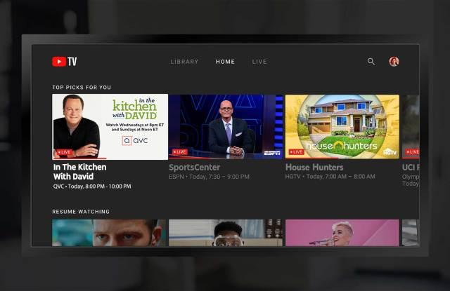 QVC on YouTube-TV.