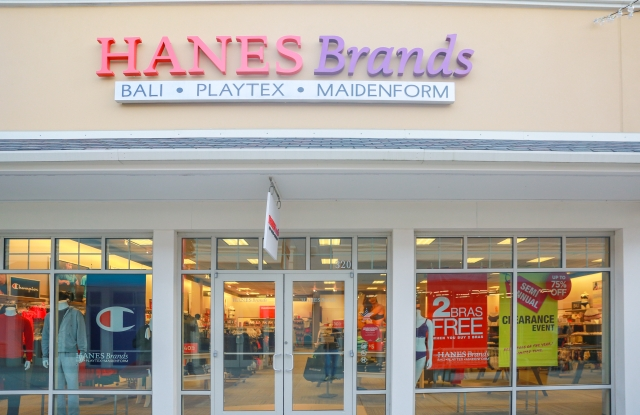 HanesBrands store