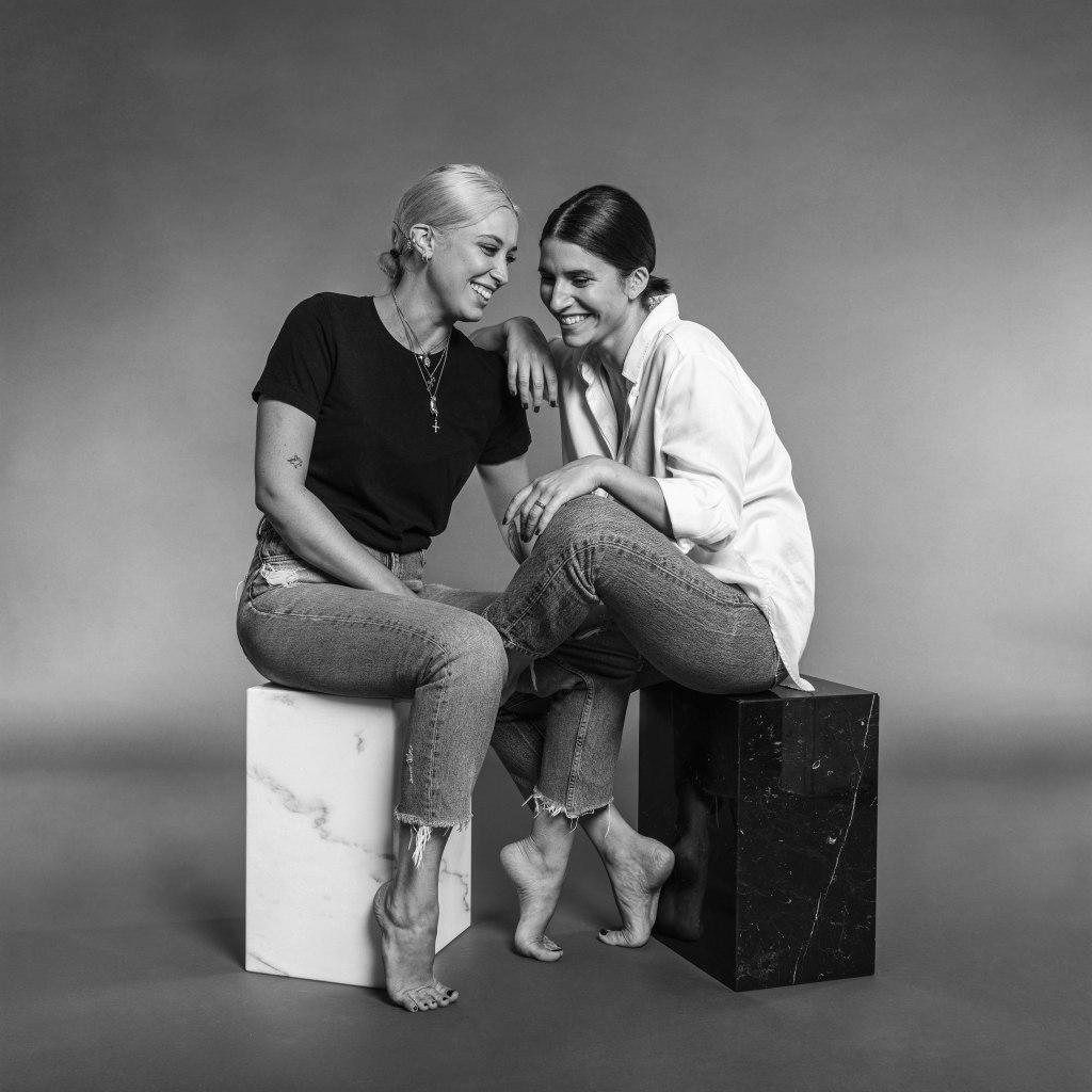 Iindaco's co-founders Domitilla Rapisardi and Pamela Costantini.