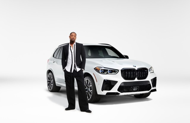 LaQuan Smith and the BMW's X5 M.