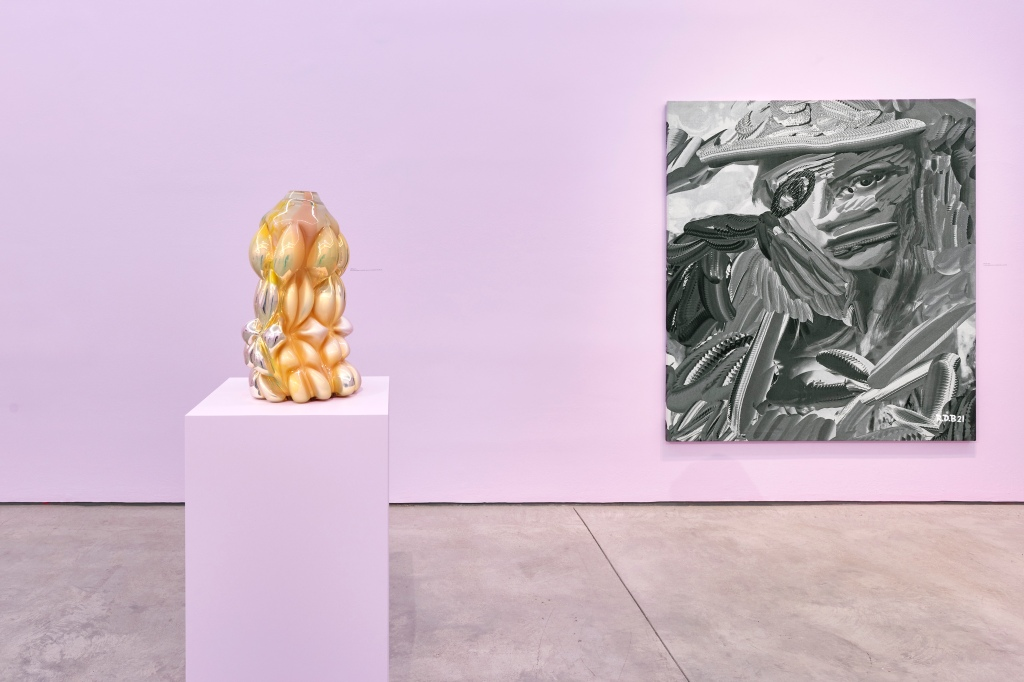 """Installation view of """"One Twice."""""""