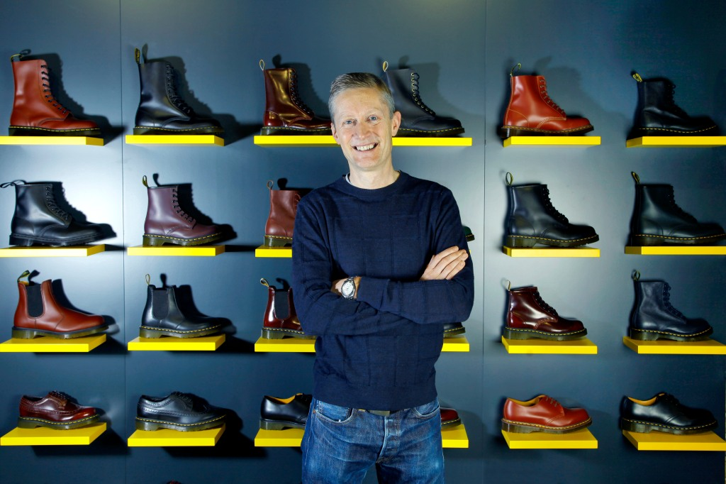 Kenny Wilson, CEO of Dr. Martens.