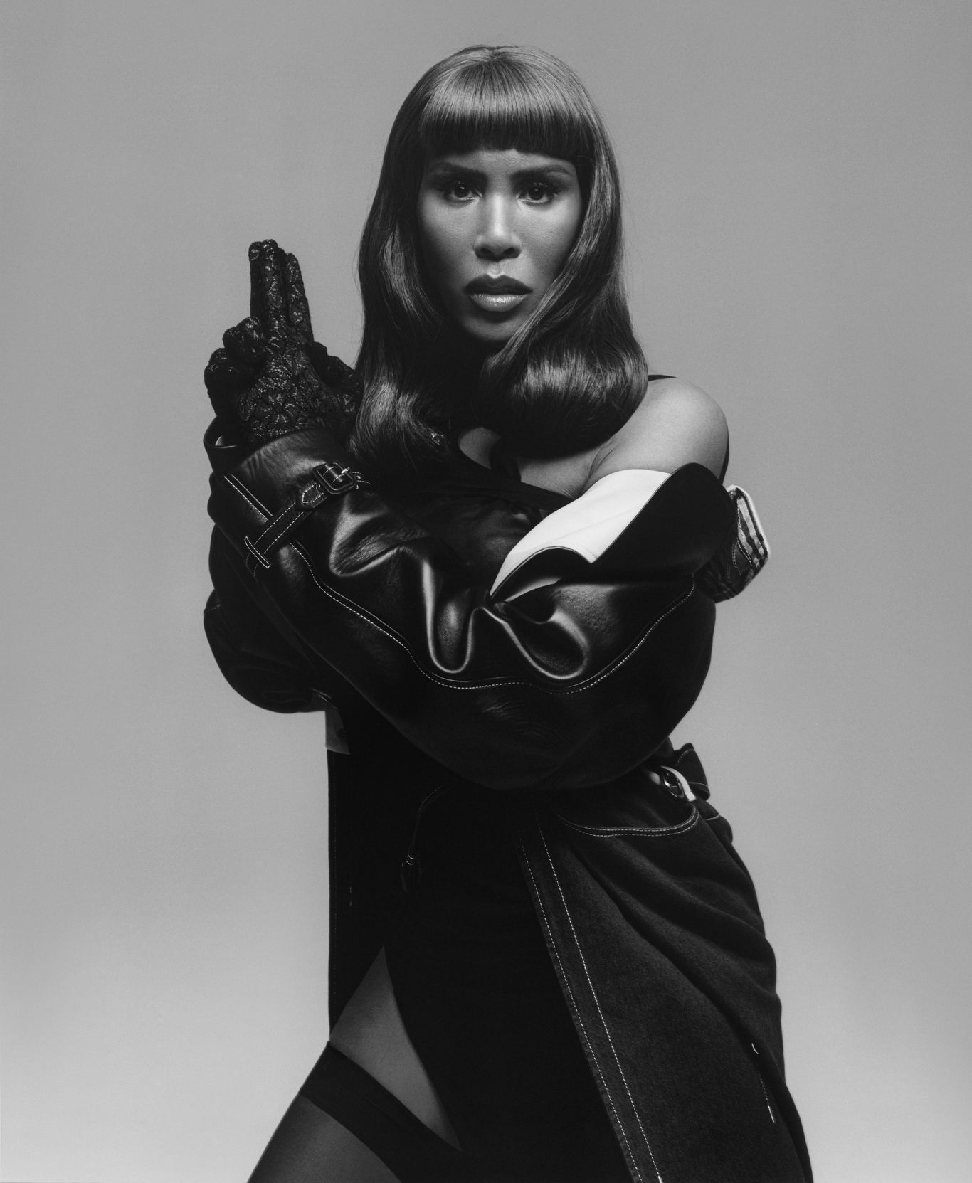 CR Fashion Book's Special Guest Editor, Honey Dijon shot by Louie Banks for CR Fashion Book