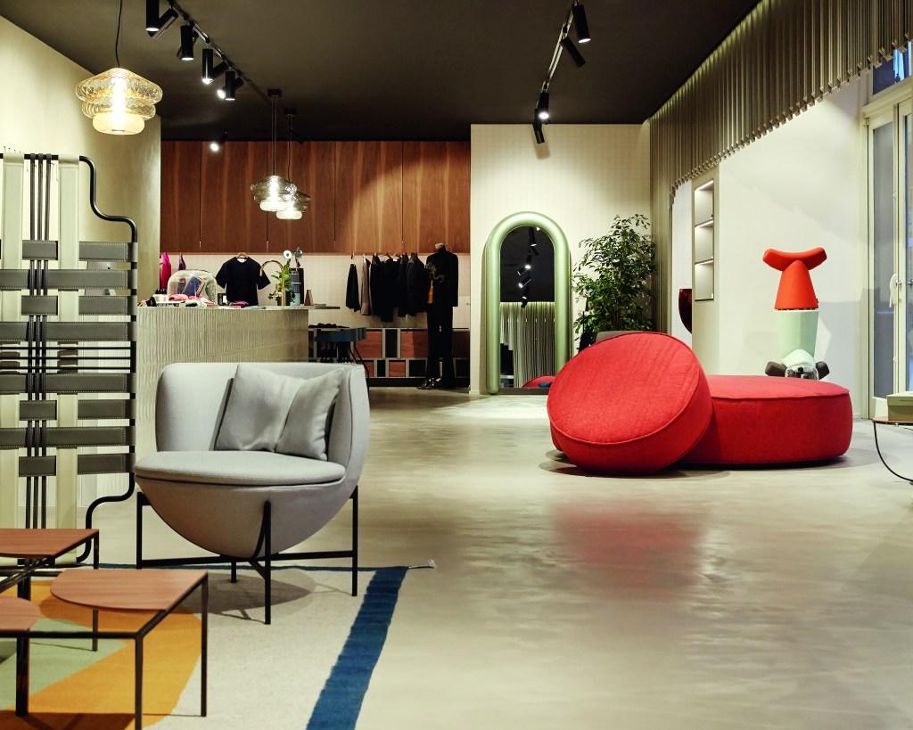 The interior of Paris concept store La Manufacture.