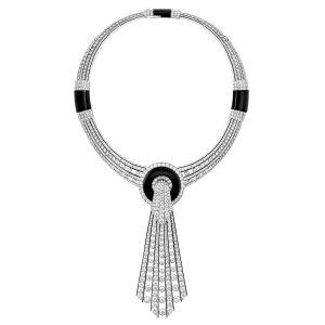 Boucheron Lavallière Diamants necklace