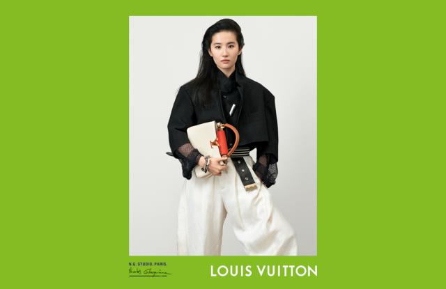 Liu Yifei in the Louis Vuitton spring 2021 campaign.