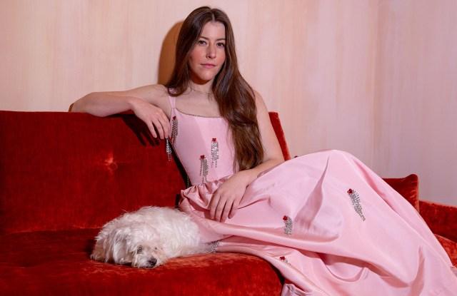 Markarian designer Alexandra O'Neill in one of her looks.