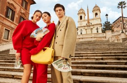 "The Mytheresa ""We Love Italy"" campaign."