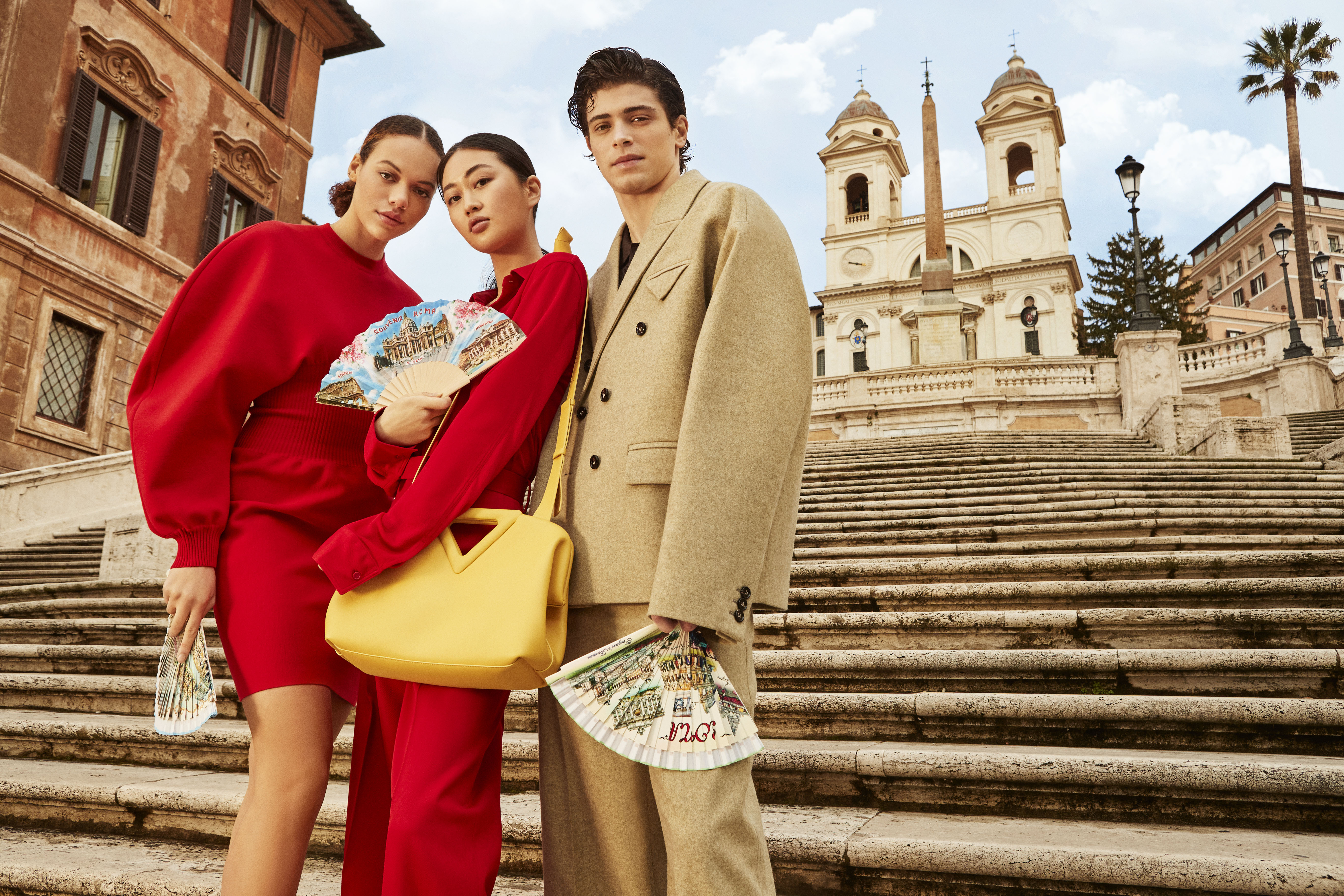 "The Mytheresa ""We Love Italy"" campaign."