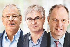 Heinrich Schaper, Jean-Yves Parisot and Achim Daub