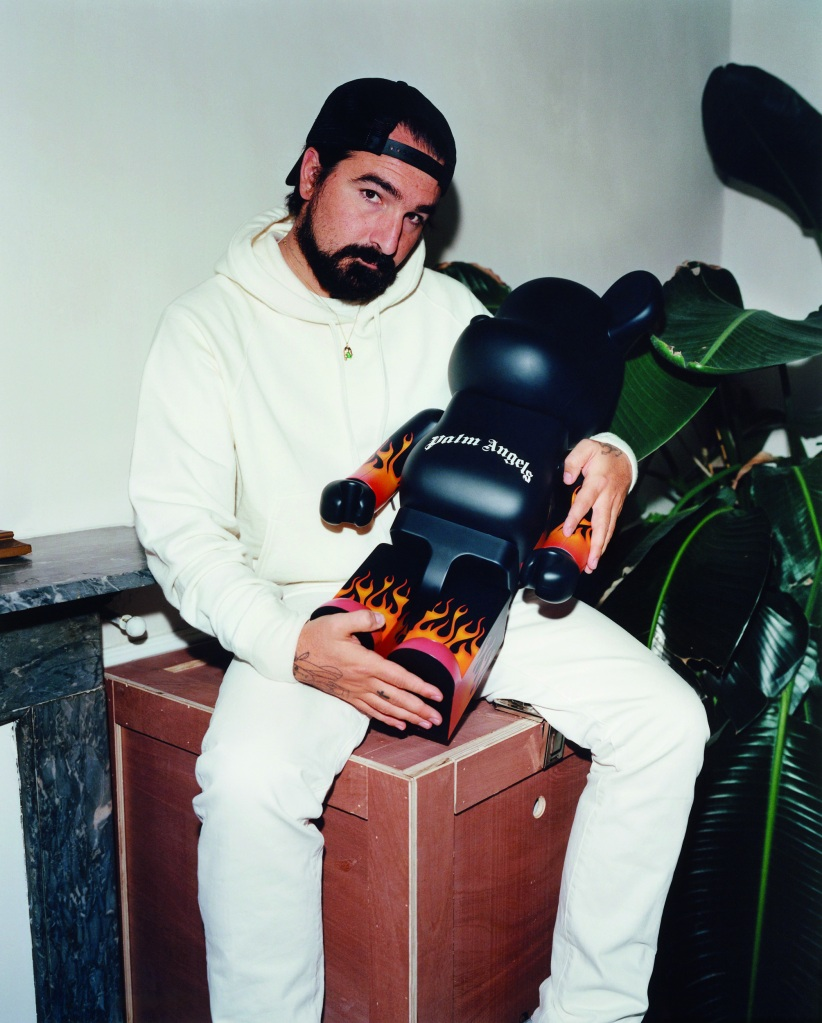 Palm Angels founder and creative director Francesco Ragazzi