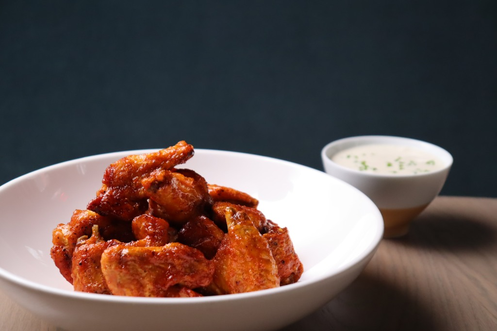 Alfred Portale's Calabrian Chili Chicken Wings