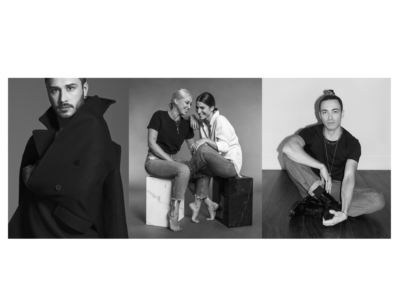 Christian Boaro, Domitilla Rapisardi and Pamela Costantini, Daniel Del Core.