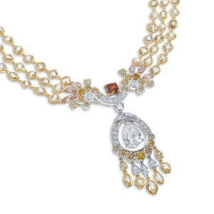 De Beers Reflections of Nature Landers Radiance Necklace