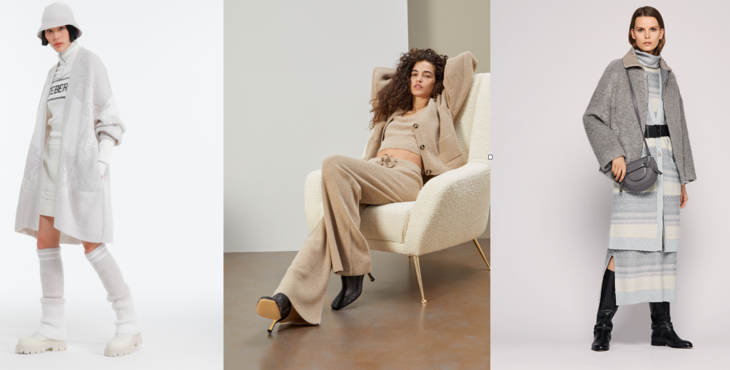 Looks from Iceberg, Federica Tosi and Fabiana Filippi Fall 2021 Collections