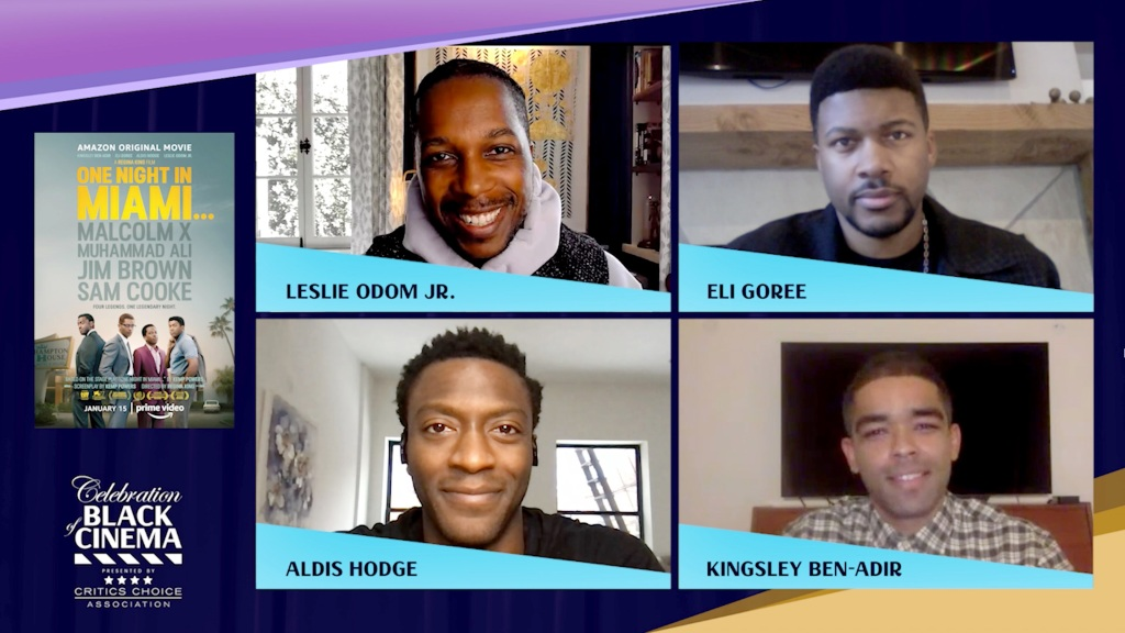 One Night in Miami cast Celebration of Black Cinema