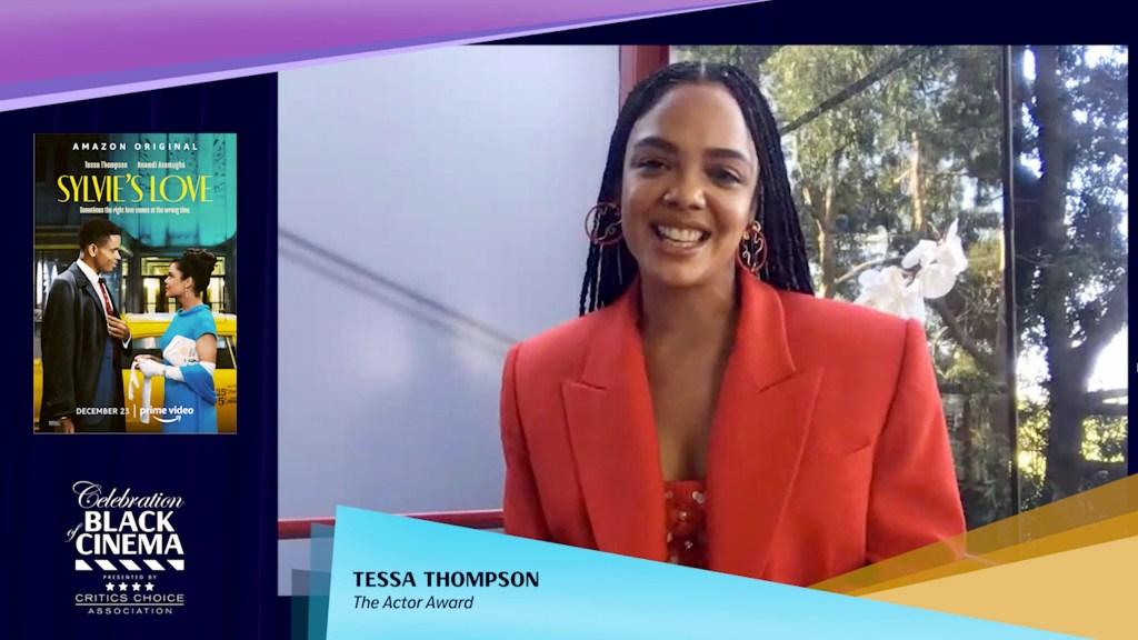 Tessa Thompson Celebration of Black Cinema