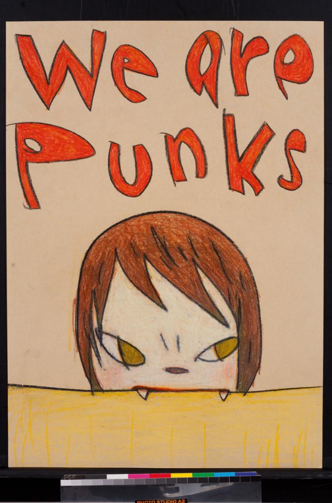 """We are Punks"" artwork by Yoshitomo Nara"