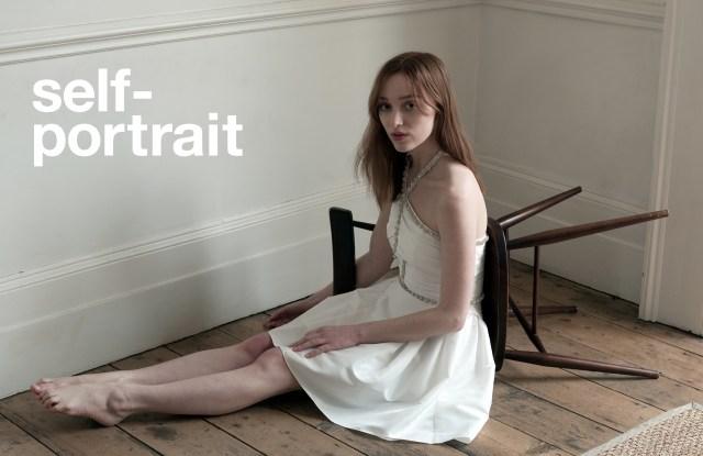 'Bridgerton' Star Phoebe Dynevor Poses for Self-Portrait's Fall Ads.jpg