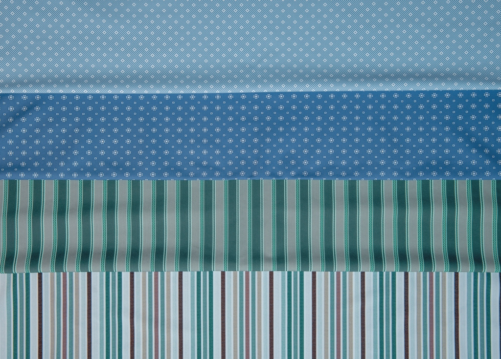 A range of Eurojersey's Sensitive Fabrics from the spring 2022 collection.