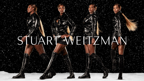 Stuart Weitzman Serena Williams