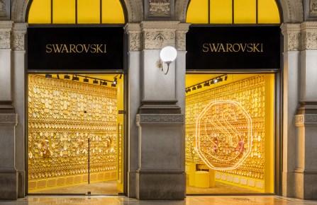 Swarovski store in Milan