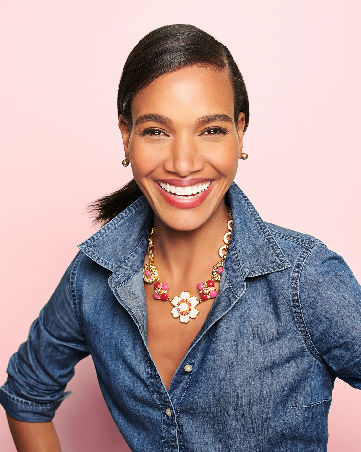 "Talbots has introduced a limited edition ""Gratitude"" necklace."