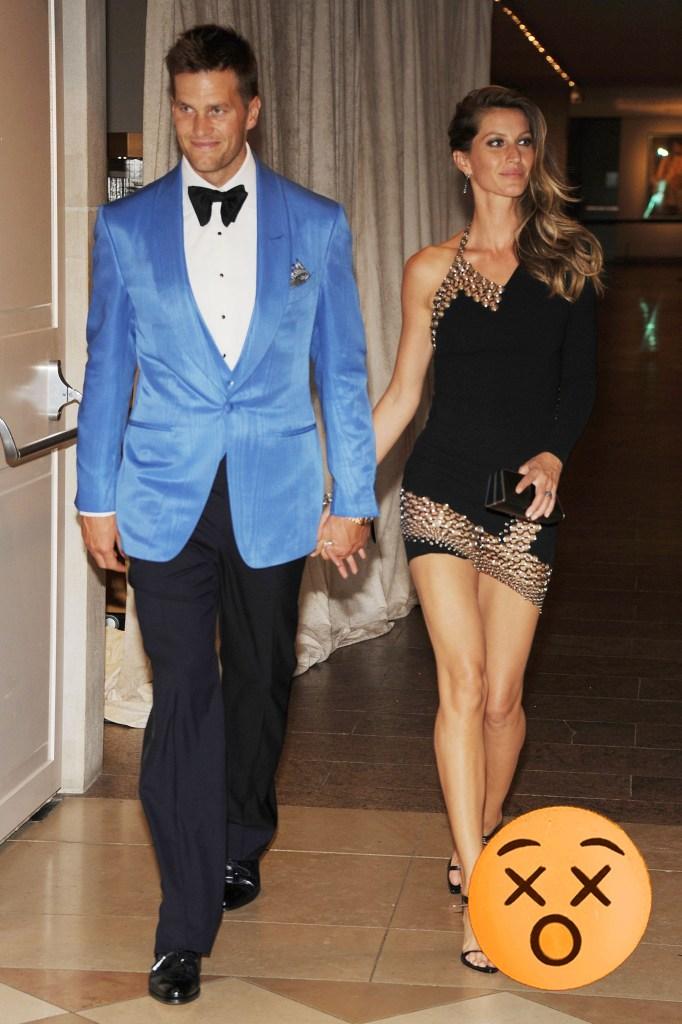 Gisele Bundchen and Tom Brady, 2013.