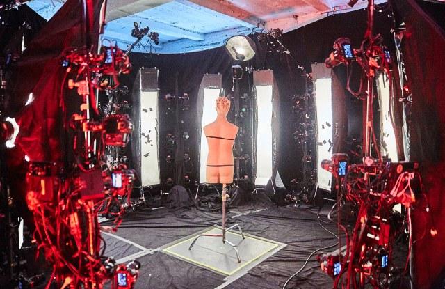 Verizon Media's Yahoo Ryot Lab used photogrammetry capture to cast Rebecca Minkoff's designs in AR.