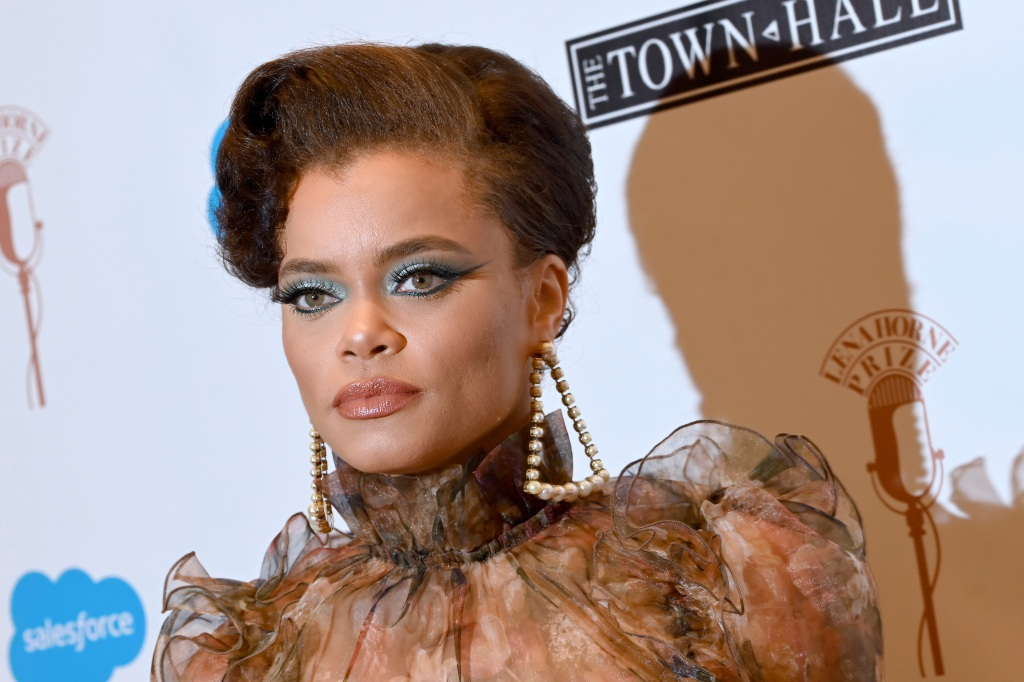 Andra Day Golden Globes 2021 Red Carpet Look